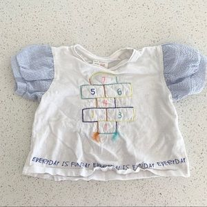Baby girls Zara shirt